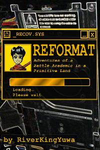 Reformat: Adventures of a Battle Academic in a Primitive Land