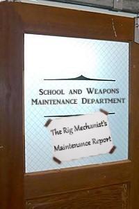 The Rig Mechanist's Maintenance Report