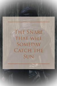 The Snare that will Someday Catch the Sun